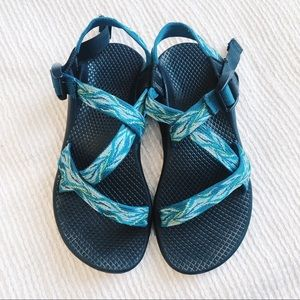 CHACO WOMANS 6 TURQUOISE/BLUE